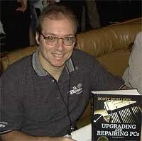 Scott Mueller with 19th edition of Upgrading & Repairing PC's