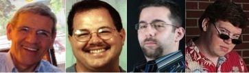 Foster Braun, Ed Rudel, Kurt Hines, Erik Anderson
