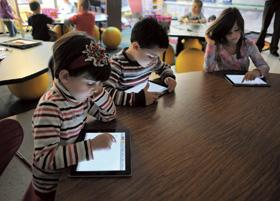 Class with iPads