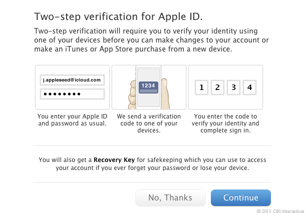 Apple 2 Step
