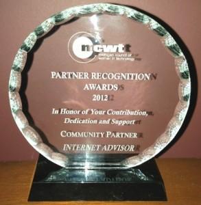 MCWT Partner Award 2012