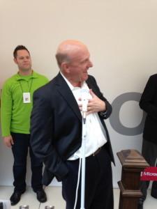 Steve Balmer, Microsoft CEO