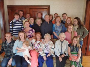 The Entire Baker Clan