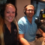 Lauren and Tim at WJR