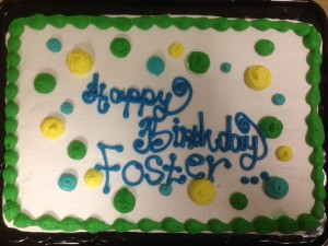 Fos Birthday cake