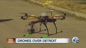 Drones over Detroit