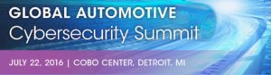 Global Automotive Cyber Security Summit