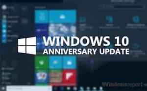 Win 10 Anniversary update