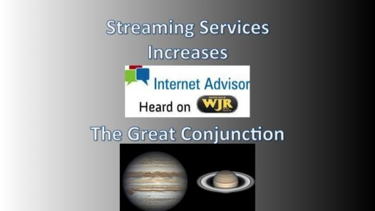 Podcast 2050 – The Great Conjunction and Streaming Service increases
