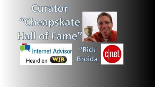 Podcast 2108 – Welcome to Cheapskate Hall of Fame.