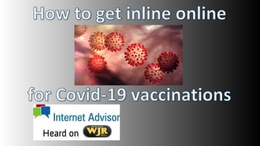 Podcast 2105 – Savvy Seniors create site for Covid-19 Vaccinations