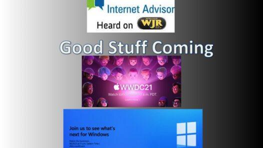 Podcast 2122 – WWDC, Windows 11?, Prime Time.