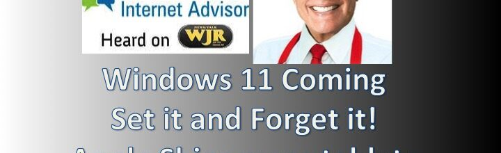 Podcast 2130 – Set it and Forget it